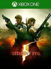 Resident Evil 5 HD USED SEALED (Microsoft Xbox One, 2016)