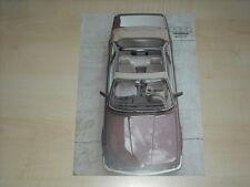 63025) BMW 3er Reihe E30 Baur Topcabriolet Prospekt 198?