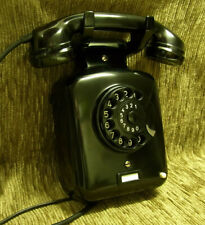 W48 Telefon  SIEMENS S&H Wandtelefon Bakelit  Telephone  TOP!