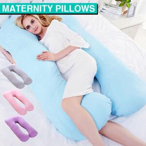 Large Maternity Pillow Pregnancy Nursing Sleeping Body Support Feeding Boyfriend