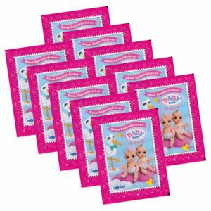 Baby Born Surprise - Sammelsticker 10 Booster Tüten mit 50 Sammelbildern Neu OvP