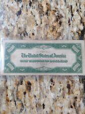 1934 $1000 Dollar Bill  New York