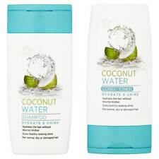 Coconut Water Hydrate & Shine Shampoo and Conditioner Mini/Travel/NEW