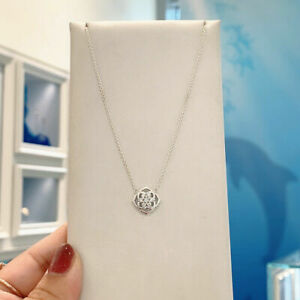 NEW 100% Authentic PANDORA Silver 925 Rose Petals Collier Necklace 399370C01