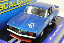 SCALEXTRIC C3430 69' CHEVROLET CAMARO TRANS AM PETERSON NEW 1/32 SLOT CAR