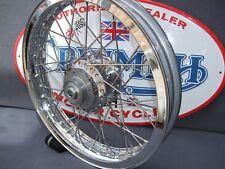 TRIUMPH AKRONT Rim T140 NEW Rr Wheel Veglia drive.New hub,SS spokes, PCVZ Ja19