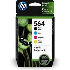 HP 564 4-pack Original Ink Cartridges, Black, cyan, magenta, yellow (3YQ22AN)