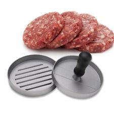 Alumium Hamburger Maker Patty Press Manual Pressure Meat Pie Burger Machine 4.7'
