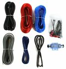 NEW BOSS KIT2 8 Gauge Complete Car Amplifier Wiring Kit 8 Ga Wire Amp KIT-2