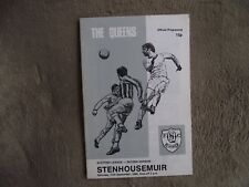 1980-81 (Sep) Queen of the South v Stenhousemuir - Scottish Division Two