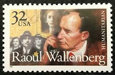 1997 Scott #3135 - 32¢ - RAOUL WALLENBERG - HUMANITARIAN  - Single Mint NH