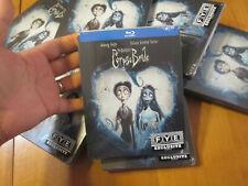 Corpse Bride Blu Ray Steelbook Fye Limited Edition Tim Burton'S Johnny Depp
