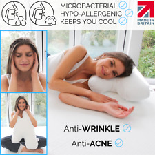 Anti-Wrinkle Pillow - Ideal for Anti-Aging ✔ Can also Reduce Acne ✔ Cover Incl ✔