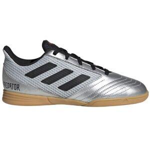 Adidas Predator 19.4 Sala J Indoor Soccer Football Shoes Youth Black New G25829