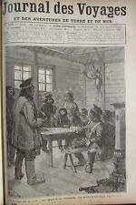 JOURNAL DES VOYAGES N° 649 de 1889 ARCTIQUE MOEURS COUTUMES PARLEMENT DES GLACES
