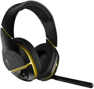 Skullcandy PLYR2 Black & Yellow Wireless Bluetooth Gaming Headphones with Mic