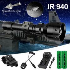 Infraed 850/940NM Flashlight Night Vision Hunting IR Torch Zoomable illuminator