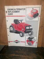 Briggs & Stratton Engine/Alternator Replacement Guide Manual.