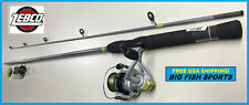ZEBCO STINGER Spinning Combo 7' Rod & Reel Package Medium #SSP40702M NEW!