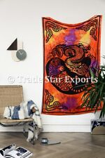 Tiger Dragon Ying Yang Tapestry Tie Dye Wall Hanging Indian Ethnic Wall Decor