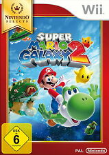 Super Mario Galaxy 2 -- Nintendo Selects (Nintendo Wii, 2014, DVD-Box)