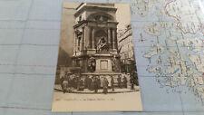Paris La Fontaine Moliere Ak Postkarte 13722