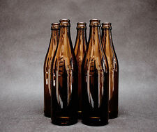 45 x Glass Beer Bottles 0,5 L 50cl + 100 Crown Caps Home Brew, Fast Delivery