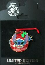Disney- Holiday Ornament Series 2009 Stitch  LE 250 PIN
