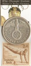 #-68)-*1936-*Olympic stamp+Silver Eagles(.900%) coin+*1956-Saar- Olympic stamp