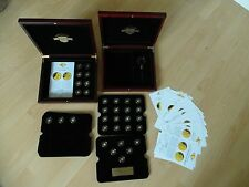 Die kleinsten Goldmünzen der Welt 33 Stück