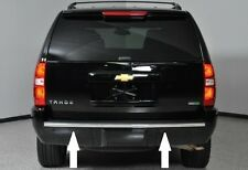 2007-2014 CHEVY TAHOE SUBURBAN CHROME REAR BUMPER TRIM MOLDING By Auto Authority