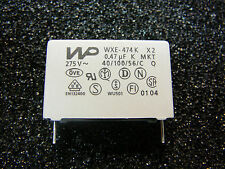 World Products WP WXE-474K 0.47µF 275V Suppression Capacitors **NEW** 5/PKG