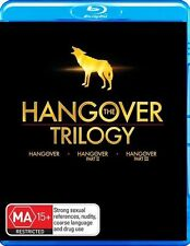 The Hangover Trilogy 1, 2 & 3 : NEW Blu-Ray