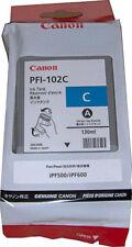 Canon PFI-102C Dye Cyan Ink Tank 130ml 0896B001AA