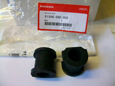 GENUINE HONDA CIVIC TYPE R FRONT ANTI ROLL BAR D BUSHES 2001-2005