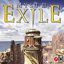 Myst III: Exile, The Sequel to Myst and Riven (Windows/Mac, 2001) Pre-Owned
