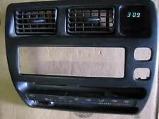 1993-1997 Toyota Corolla Dash Radio Bezel w/CLOCK '93 '94 '95 '96 '97