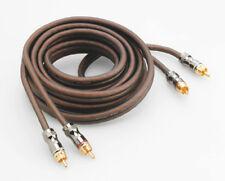 High-end estéreo cable 3 m 3 metros 3 veces blindados dorado focal f-er3