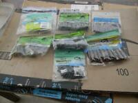 MIXED LOT OF 7 GARY YAMAMOTO CUSTOM BAITS 6-20 COUNT,1-10 COUNT EACH BAG,-NEW
