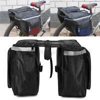 20L Bicycle Rear Rack Seat Saddle Bag Cycling Bike Pannier Tail Storage