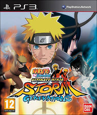 Naruto Shippuden Ultimate Ninja Storm Generations ~ PS3 (in Great Condition)
