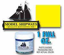 Model Shipways 1oz. Bottle - Bright Yellow Paint for Wood Models & Tall Ships