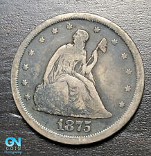1875 S 20 Cent Piece  --  MAKE US AN OFFER!  #B6922