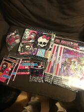 Monster High Party Supplies Napkins Wall Decorating Kit Thank You Card Bracelet