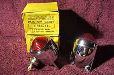 VTG 40 50s 60s ROCKET WING STOP DIRECTIONAL SIGNAL LIGHTS RATROD AUTO ACCESSORY
