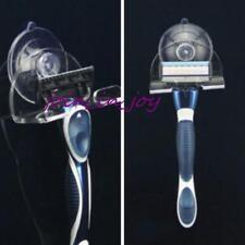 Wall-mounted Men Sucked Suction Cup Razor Shaver Holder Hanger Bathroom Tools JJ