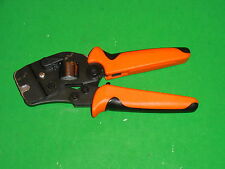 New Crimping Tool FD2808SQ , Square Profile 0.08-16mm2 (28-6AWG) W/Front Feed