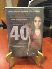 40: The Most Important Human Rights Issue (DVD, 2014) Mfg. Sealed