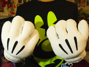 Disney Mickey Minnie Mouse Costume Party Cosplay Gloves 1 Pair Gift