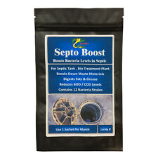 HYDRA SEPTO BOOST 12x30g- 12 Month Supply Septic Tank Treatment Remove Bad Smell